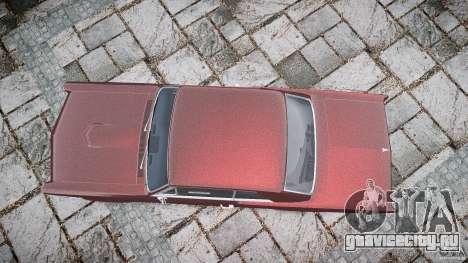 Pontiac GTO 1965 для GTA 4 вид сверху
