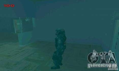 Cпецназовец из Амбреллы для GTA San Andreas седьмой скриншот