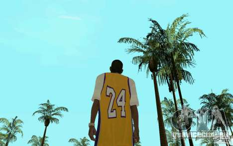 Afro-American HD skin для GTA San Andreas четвёртый скриншот