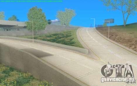 Бетонные дороги Лос-Сантос Beta для GTA San Andreas второй скриншот