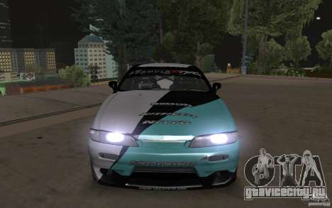 Nissan S14 Matt Powers 2012 для GTA San Andreas вид справа