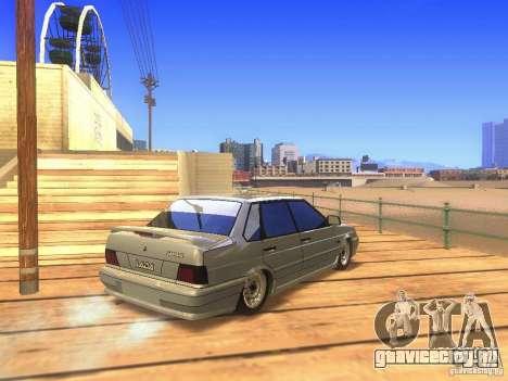 VAZ 2115 для GTA San Andreas вид справа