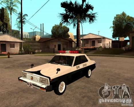 Nissan Skyline 2000 GT Police для GTA San Andreas