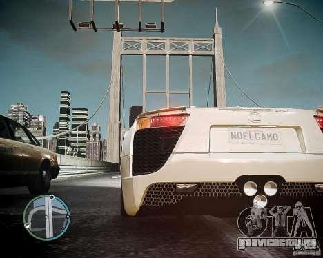 Lexus LF-A Roadster для GTA 4 вид сзади слева