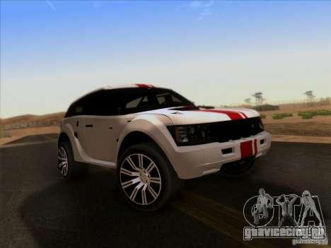 Bowler EXR S 2012 для GTA San Andreas