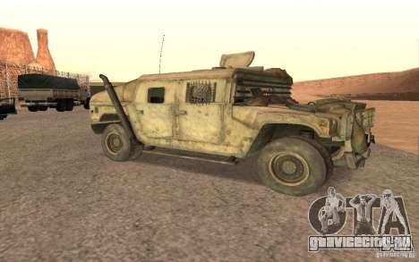 Hummer Spec Ops The Line для GTA San Andreas