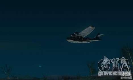 PBY Catalina для GTA San Andreas вид сзади слева