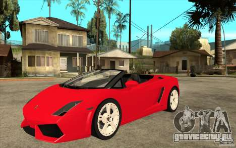 Lamborghini Gallardo LP560 Spider для GTA San Andreas