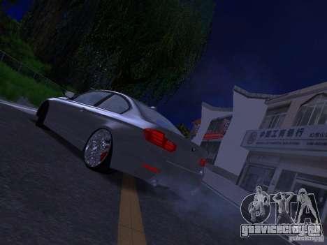 BMW 335i F30 Coupe для GTA San Andreas вид слева