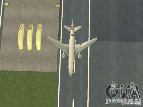 McDonell Douglas  DC 10 Thai Airways для GTA San Andreas вид изнутри