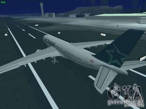 Airbus A330-200 Air Transat для GTA San Andreas вид сверху