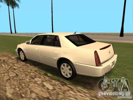 Cadillac DTS 2010 для GTA San Andreas вид справа