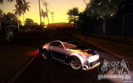 Nissan 350Z Fairlady для GTA San Andreas вид справа