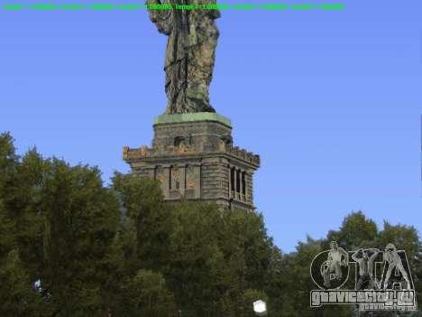 Статуя Свободы 2013 для GTA San Andreas третий скриншот