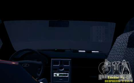 ВАЗ 2170 Приора ДПС для GTA San Andreas двигатель