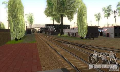 Russian Rail v2.0 для GTA San Andreas четвёртый скриншот