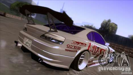 Nissan 150SX Drift для GTA San Andreas вид сзади слева