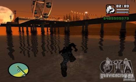 ENBSeries 0.075 (только вода) для GTA San Andreas девятый скриншот