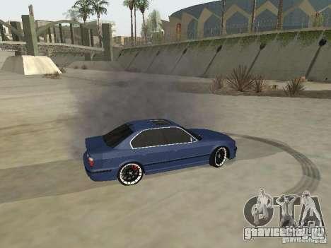 BMW M5 E34 V2.0 для GTA San Andreas вид сзади