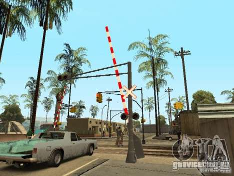 ЖД Переезд RUS для GTA San Andreas