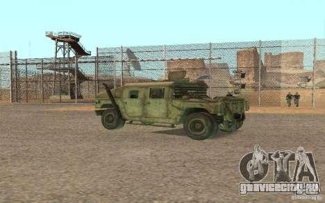 Hummer Spec Ops The Line для GTA San Andreas вид справа
