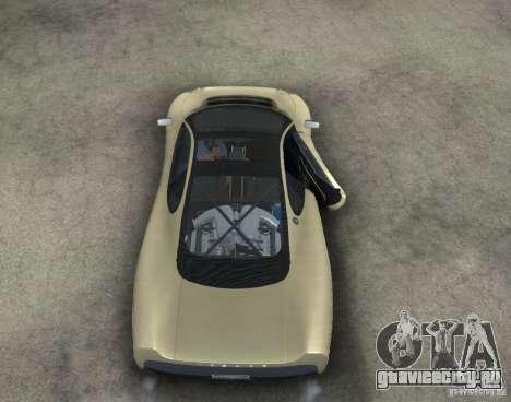 Jaguar XJ 220 Black Rivel для GTA San Andreas вид изнутри