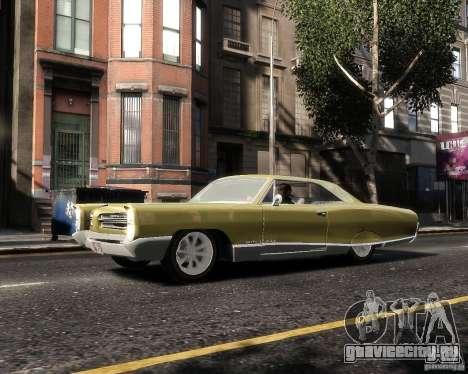 Pontiac Bonneville 1966 для GTA 4 вид слева