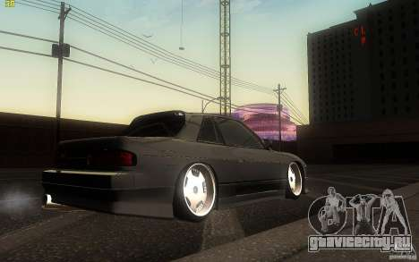 Nissan Silvia S13 Clean Edition для GTA San Andreas вид сзади