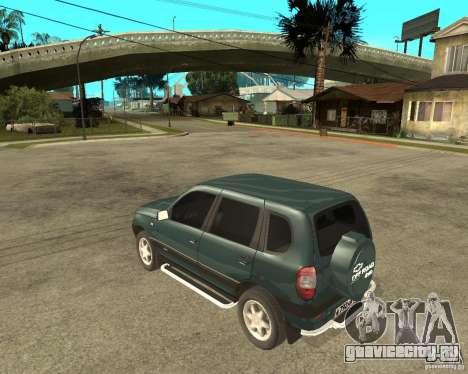 NIVA Chevrolet для GTA San Andreas вид слева