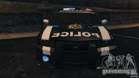 NFSOL State Police Car [ELS] для GTA 4 вид сбоку