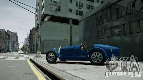 Bugatti Type 35C для GTA 4 вид слева