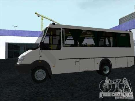 ГолАЗ 3207 для GTA San Andreas вид сзади