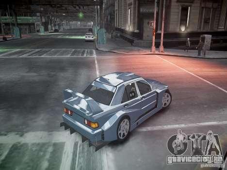 Mercedes 190E Evo2 для GTA 4 салон