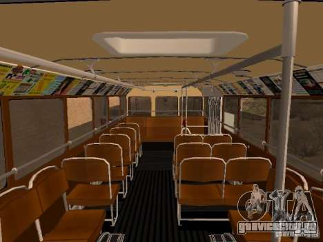 Ikarus 60 для GTA San Andreas вид сбоку