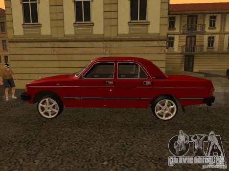 ГАЗ Волга 31029 Sl для GTA San Andreas вид сзади слева