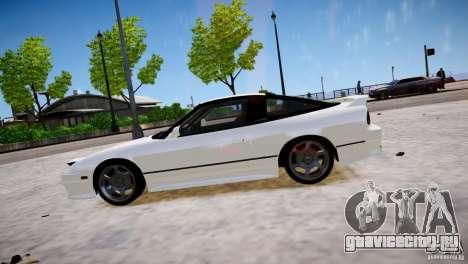 Nissan 240SX Drift для GTA 4 вид слева