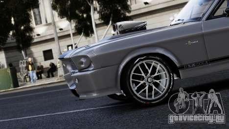 Ford Shelby Mustang GT500 Eleanor для GTA 4 вид справа