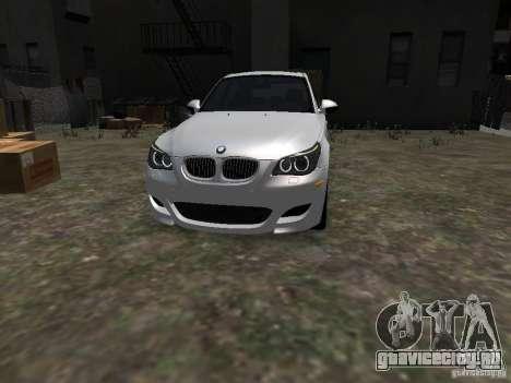 BMW M5 для GTA 4 вид сзади