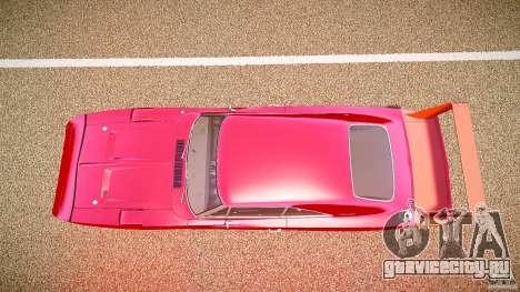 Dodge Charger Daytona 1969 [EPM] для GTA 4 вид справа