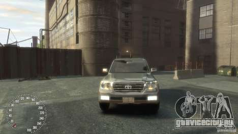 Toyota Land Cruiser 200 2010 для GTA 4 вид справа