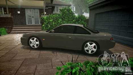 Nissan 200SX для GTA 4 вид снизу