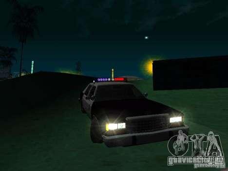 Ford Crown Victoria LTD 1992 SFPD для GTA San Andreas
