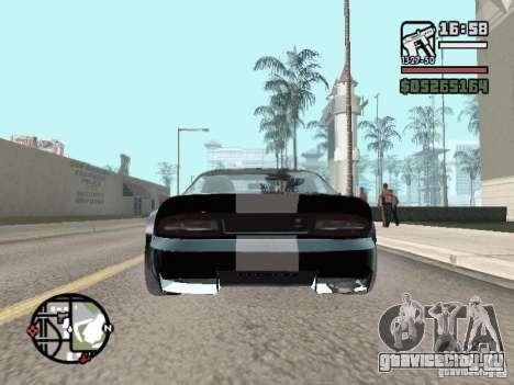 Banshee из GTA IV для GTA San Andreas вид сзади слева