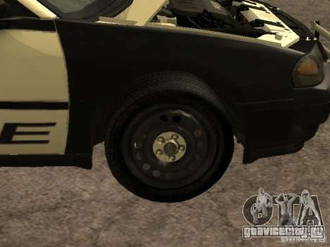 Chevrolet Impala Police 2003 для GTA San Andreas вид изнутри