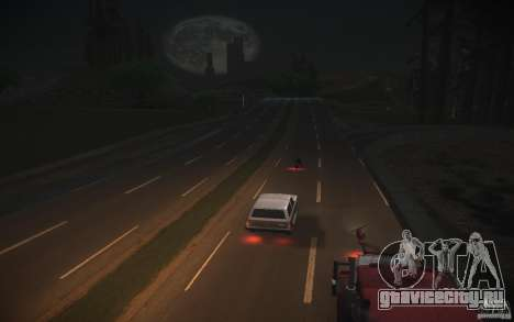 HD Дороги v2.0 Final для GTA San Andreas четвёртый скриншот