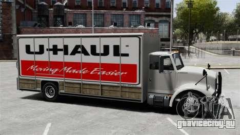 Грузоперевозки U-Haul для GTA 4 третий скриншот