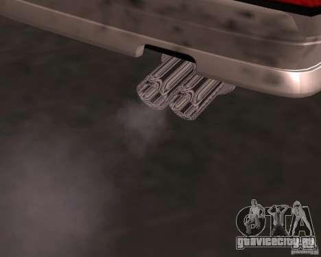 Taxi Cabrio для GTA San Andreas вид снизу