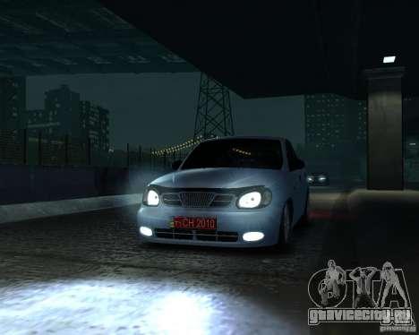 Daewoo Lanos для GTA 4 вид справа