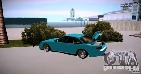 Nissan Silvia S14 JDM WAY для GTA San Andreas вид слева