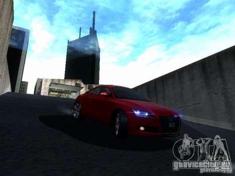 Audi TT 2009 v2.0 для GTA San Andreas вид сбоку